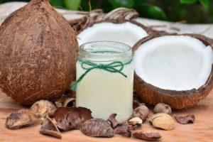 Olio di cocco, impiego in cucina