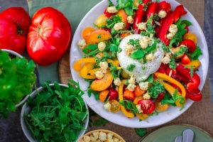 Alimentazione vegetariana: benessere e cibi consigliati