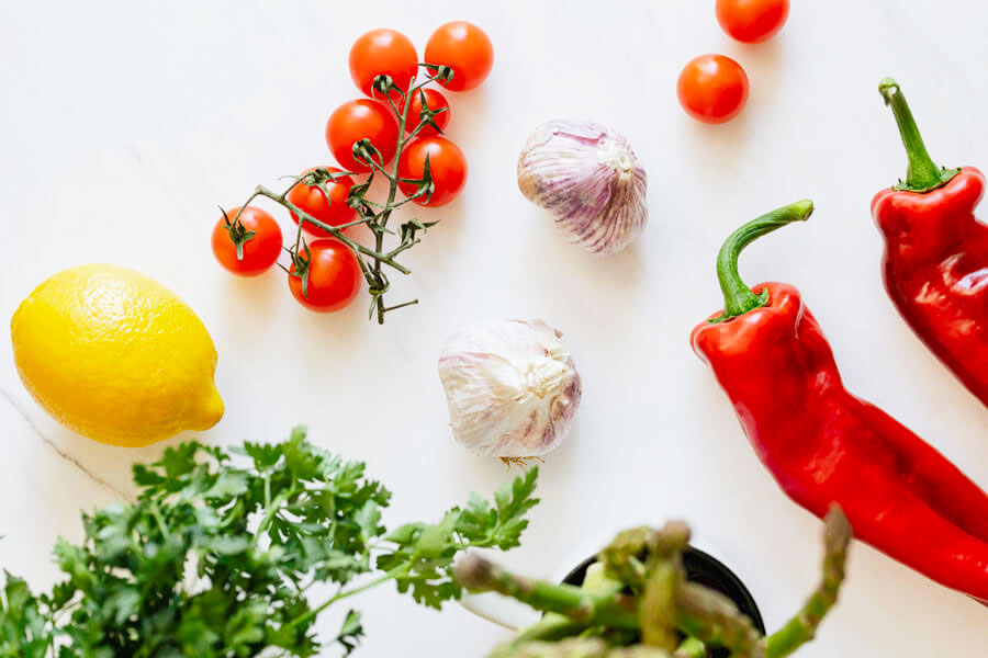 Il cibo della salute